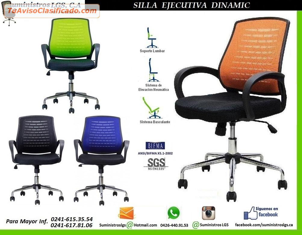 Ofertas en sillas ejecutivas en tela y malla mesh for Sillas ejecutivas para oficina