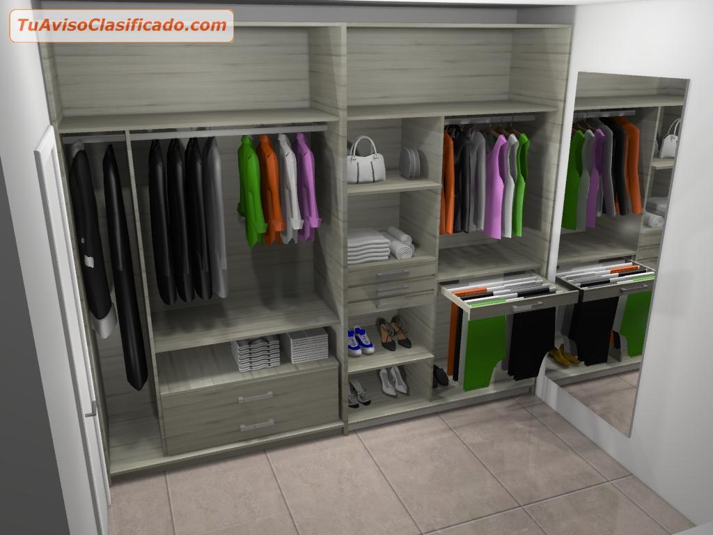 Diseño 3D y fabricación de Cocinas Modulares, Closet, Baños, Ofici...