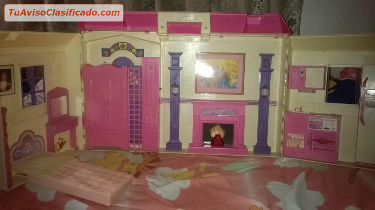 Juegos y juguetes en - La casa de barbie de juguete ...