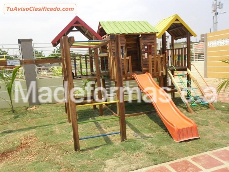 fabricacin y de parques infantiles en madera y hierro madeformas ca