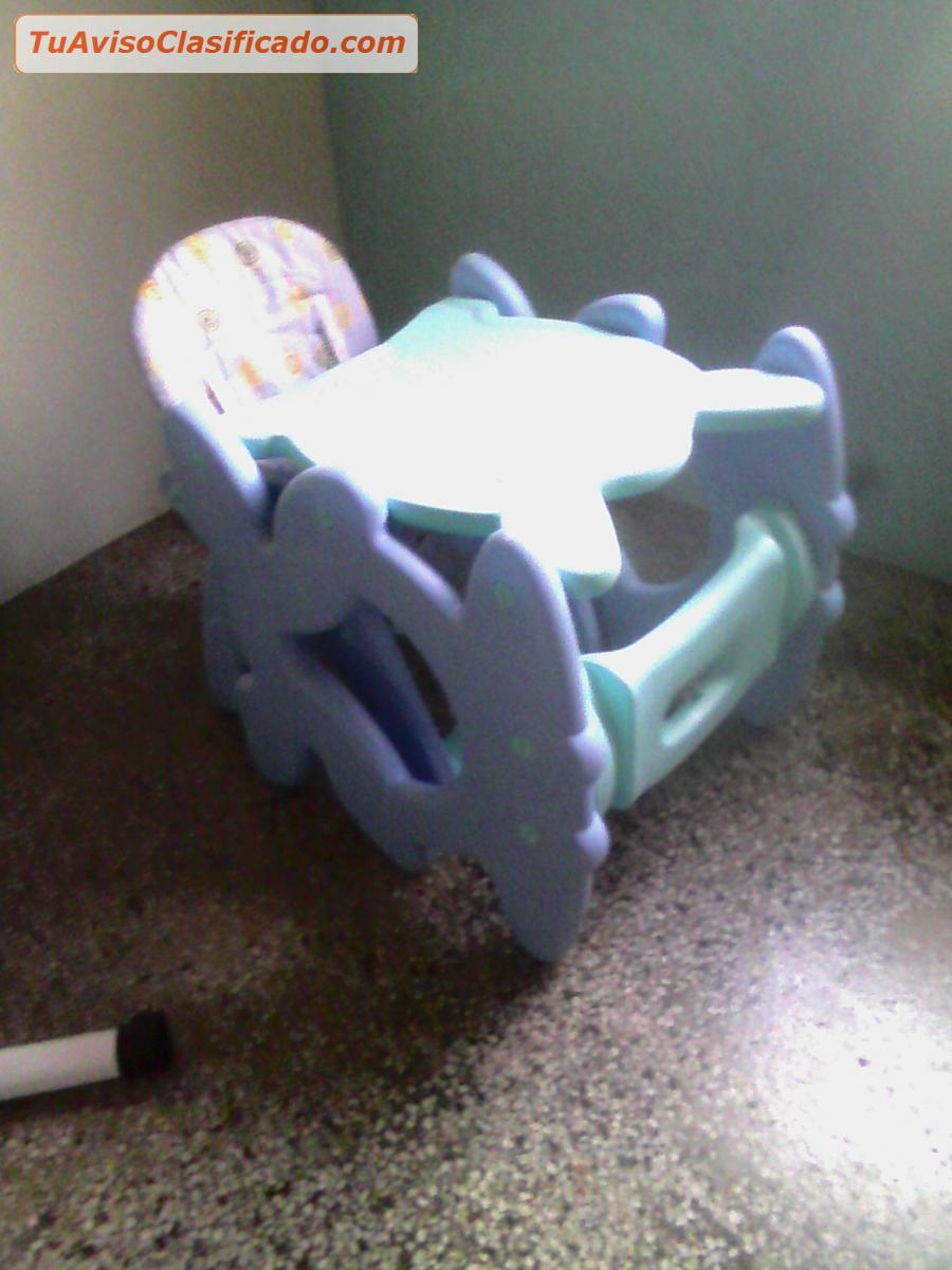 en venta silla comedor y escritorio para bebes
