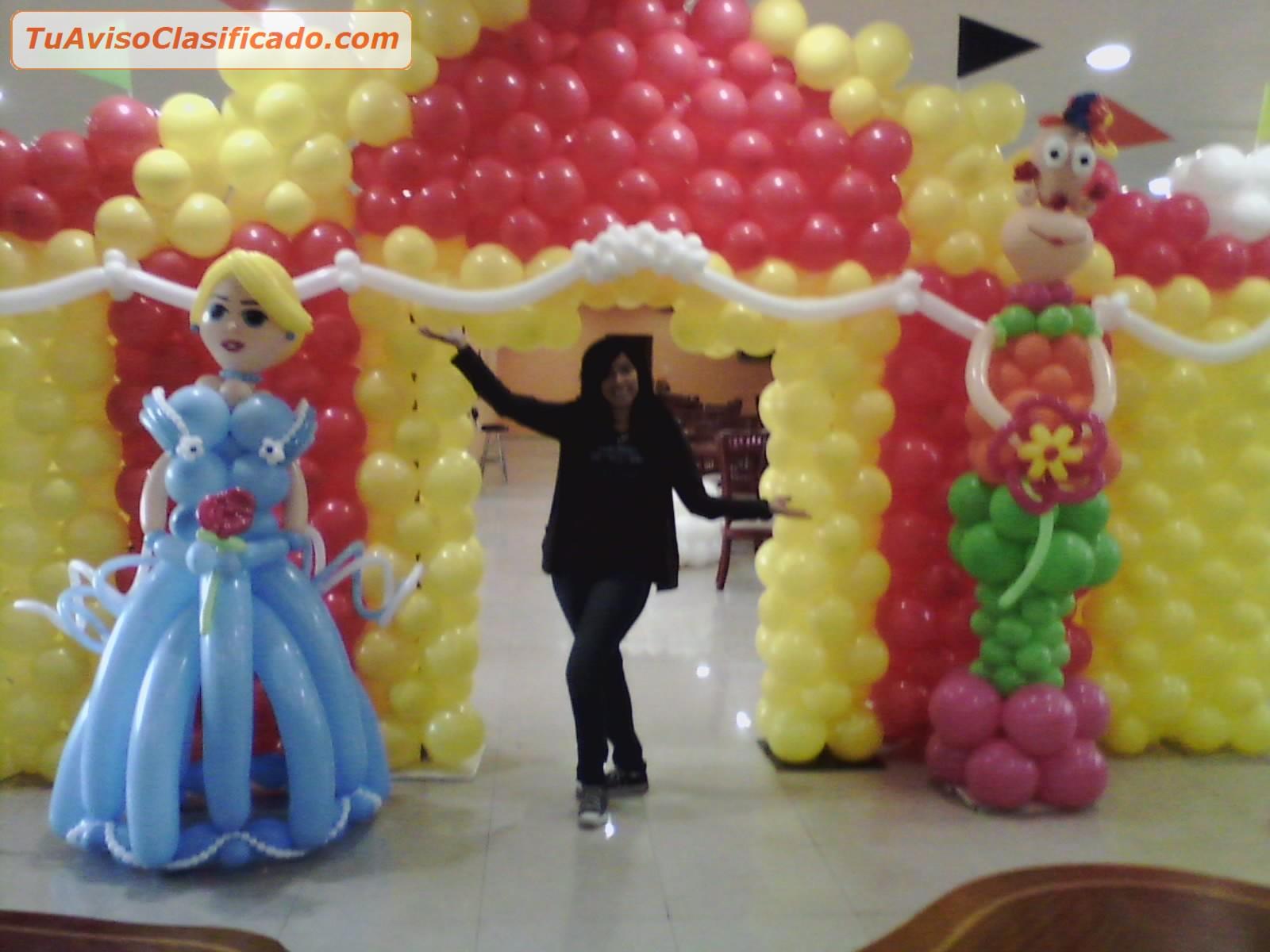 Curso de decoraci n con globos cursos formaci n y - Decoracion de globos ...