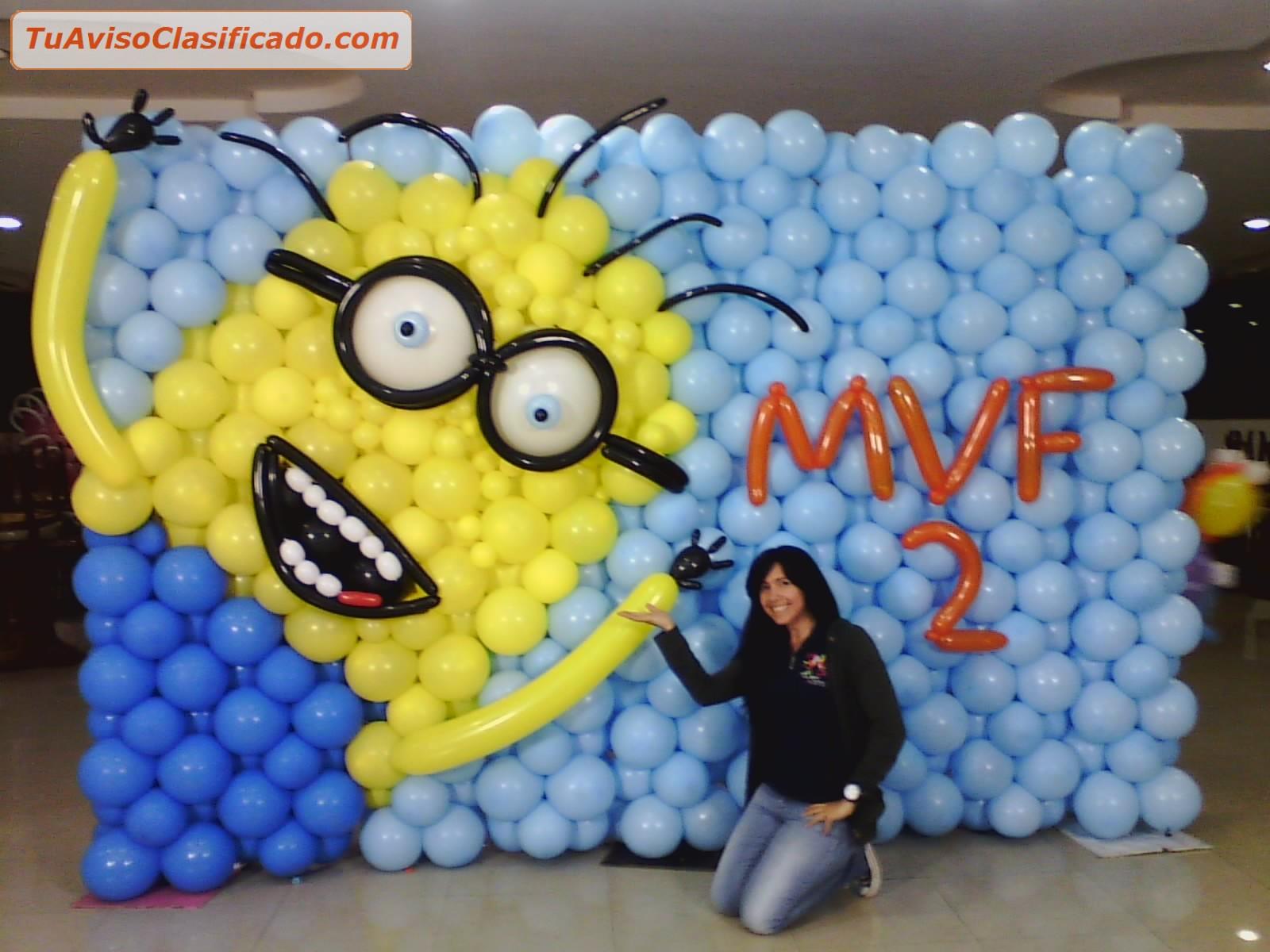 Curso de decoraci n con globos cursos formaci n y for Cursos de muebleria gratis