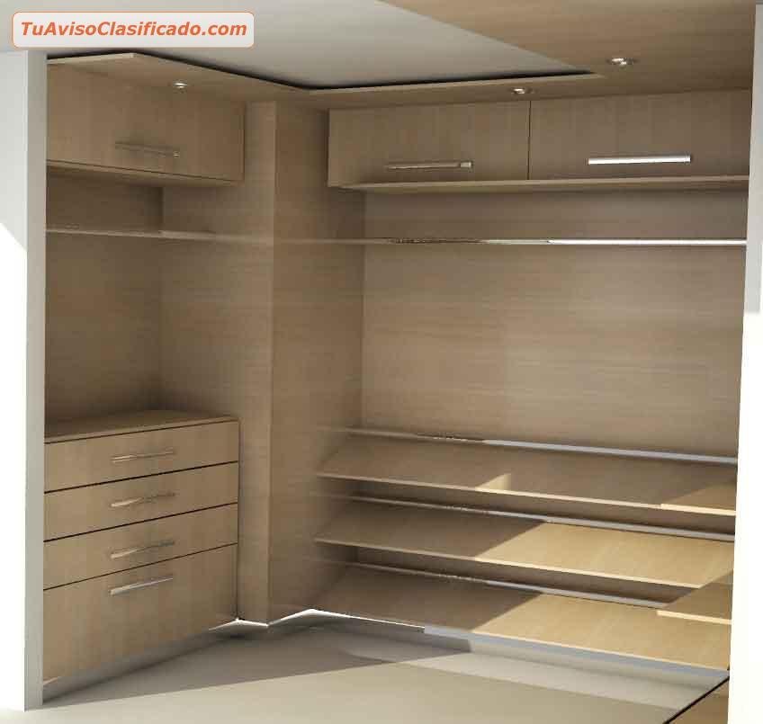Cocinas y closets modulares mobiliario y equipamiento for Cocinas y closets