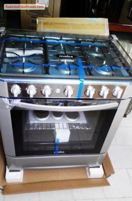 Cocinas y hornos de electrodom sticos en for Cocinas a gas nuevas