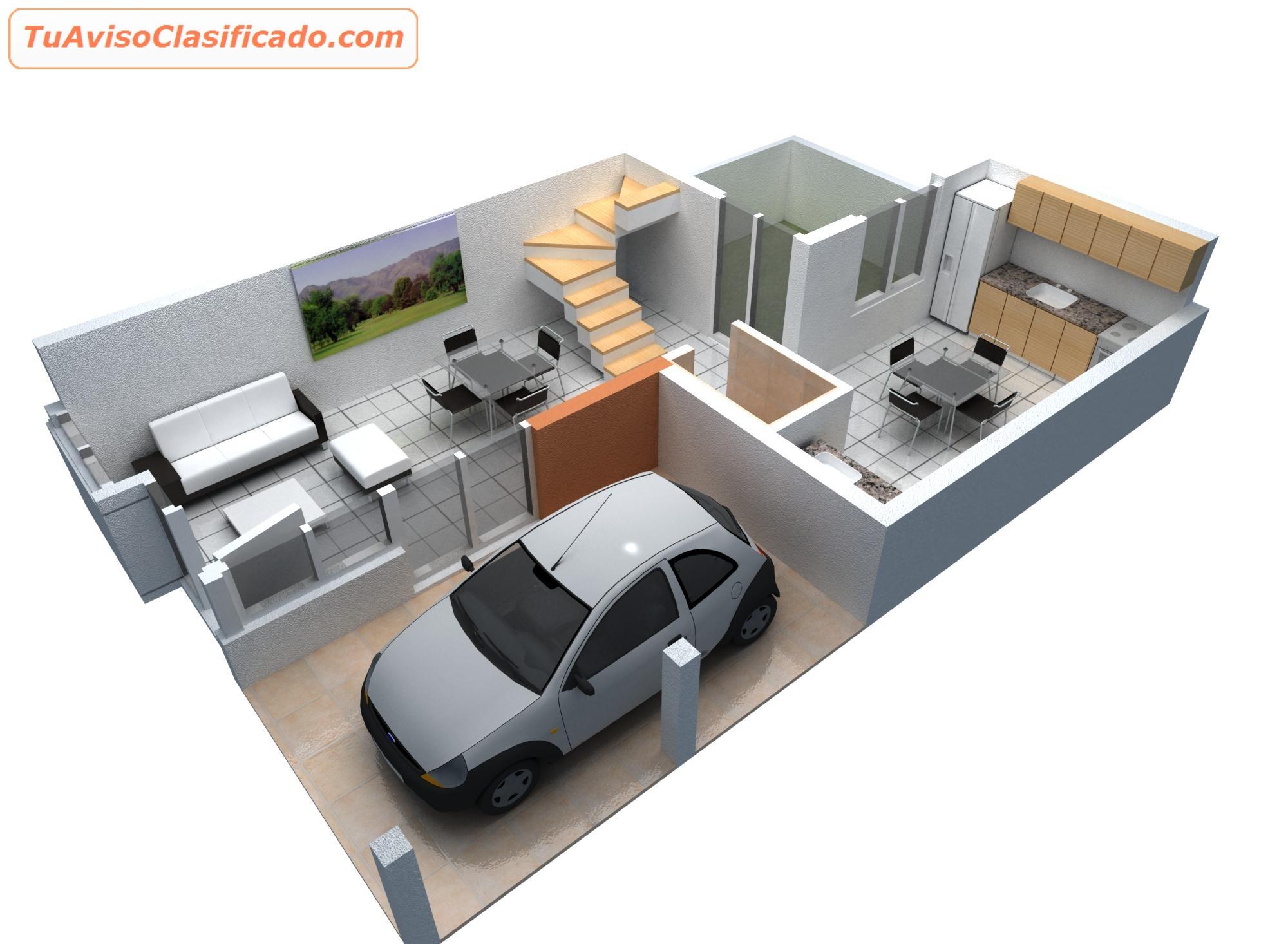 Two Bedroom Ground Floor Plan