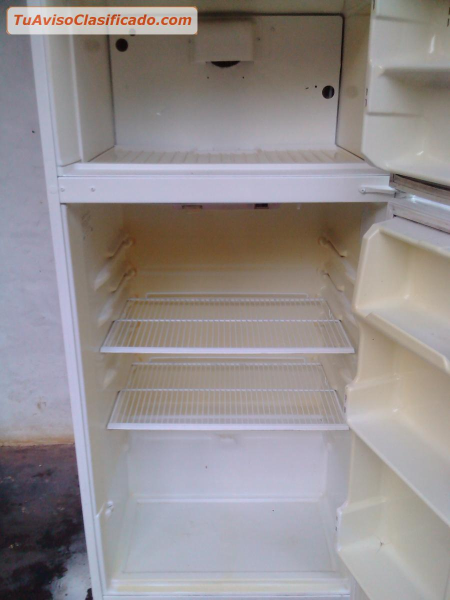 Vendo nevera 14 pies sin escarcha dos puertas verticales - Nevera congelador dos puertas ...