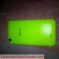 Vendo tlf bku studio 5.0c para repuesto carcaza verde pantalla mica tactil en condiciones