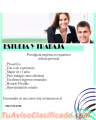 Estudia y trabaja, prestigiosa empresa en expansión solicita personal