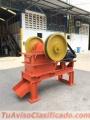 Mandíbula Trituradora con un rendimiento de 3T/H. producto 100% venezolano