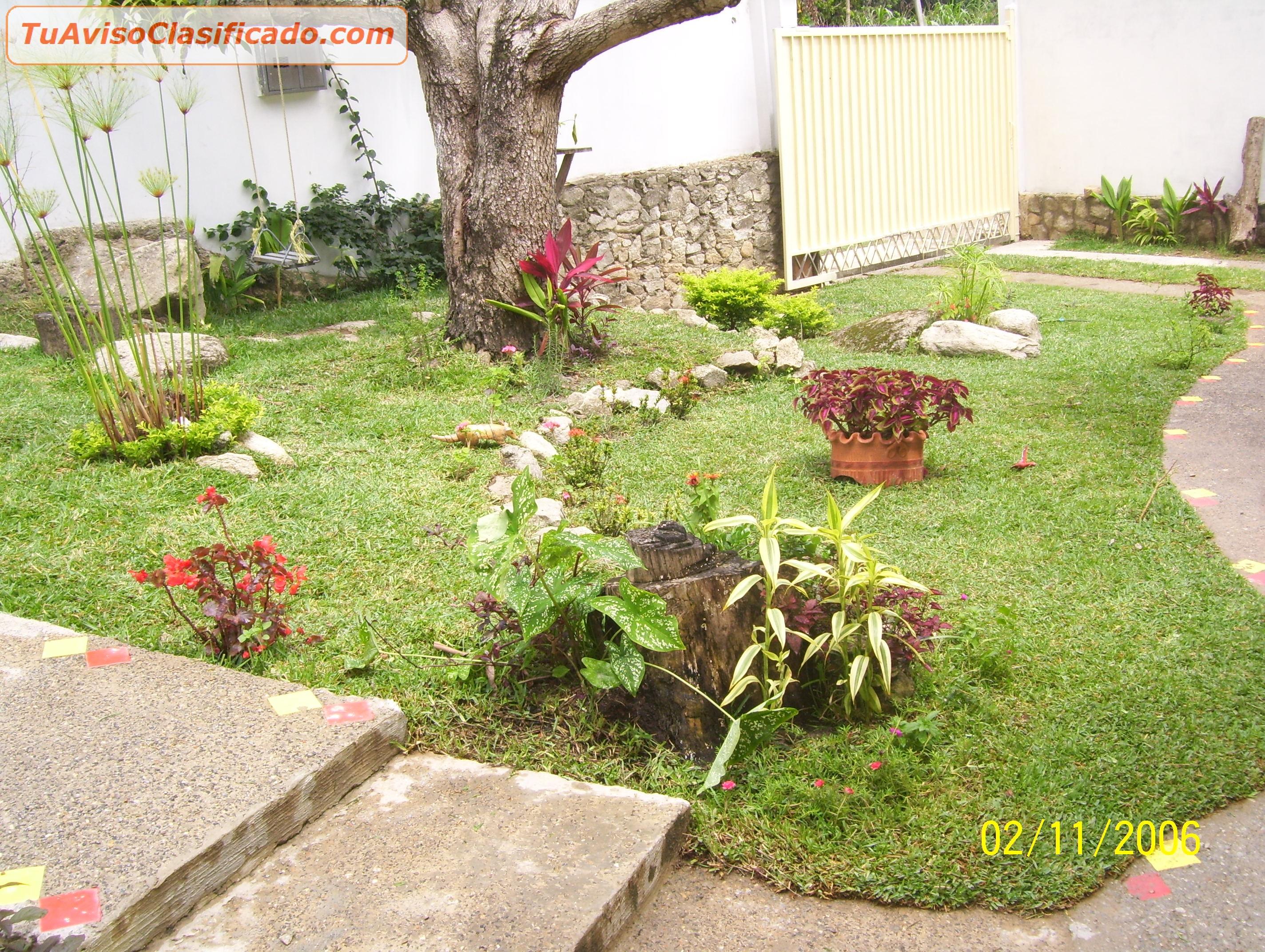 Jard n y viveros en for Jardines verdes