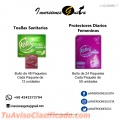 Papel higienico Residencial e Institucional, Toallas Sanitarias y Protectores Diarios