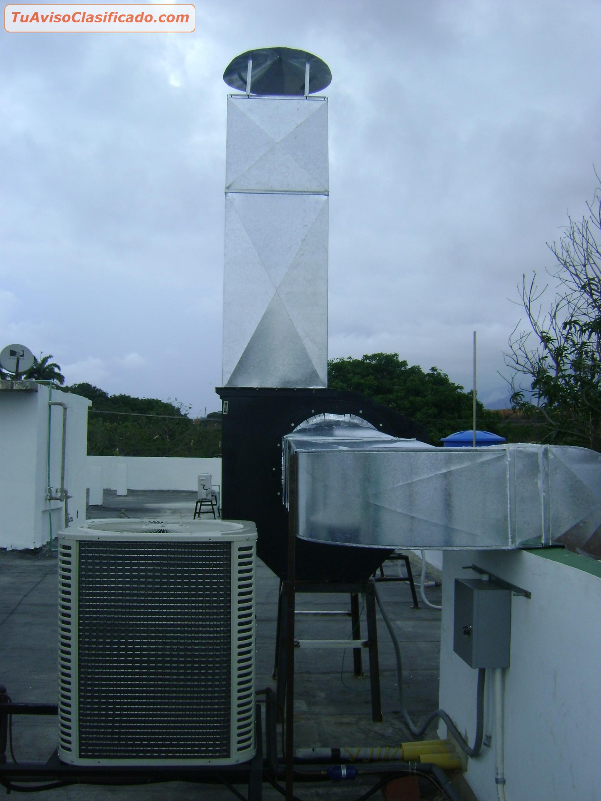 Ventiladores industriales centrifugos y axiales caracas - Extractores de aire ...