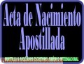 Ab antecedentes penales simple apostilla