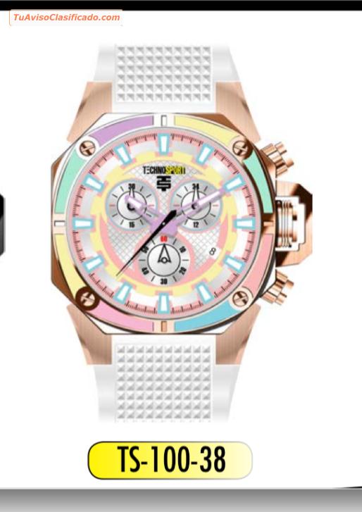 Techno sport nuevos originales con garantia y caja - Relojes originales de pared ...