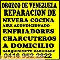 Reparaciones de Nevera y Aire Acondicionado COCINA 04169522822 LARA CARABOBO