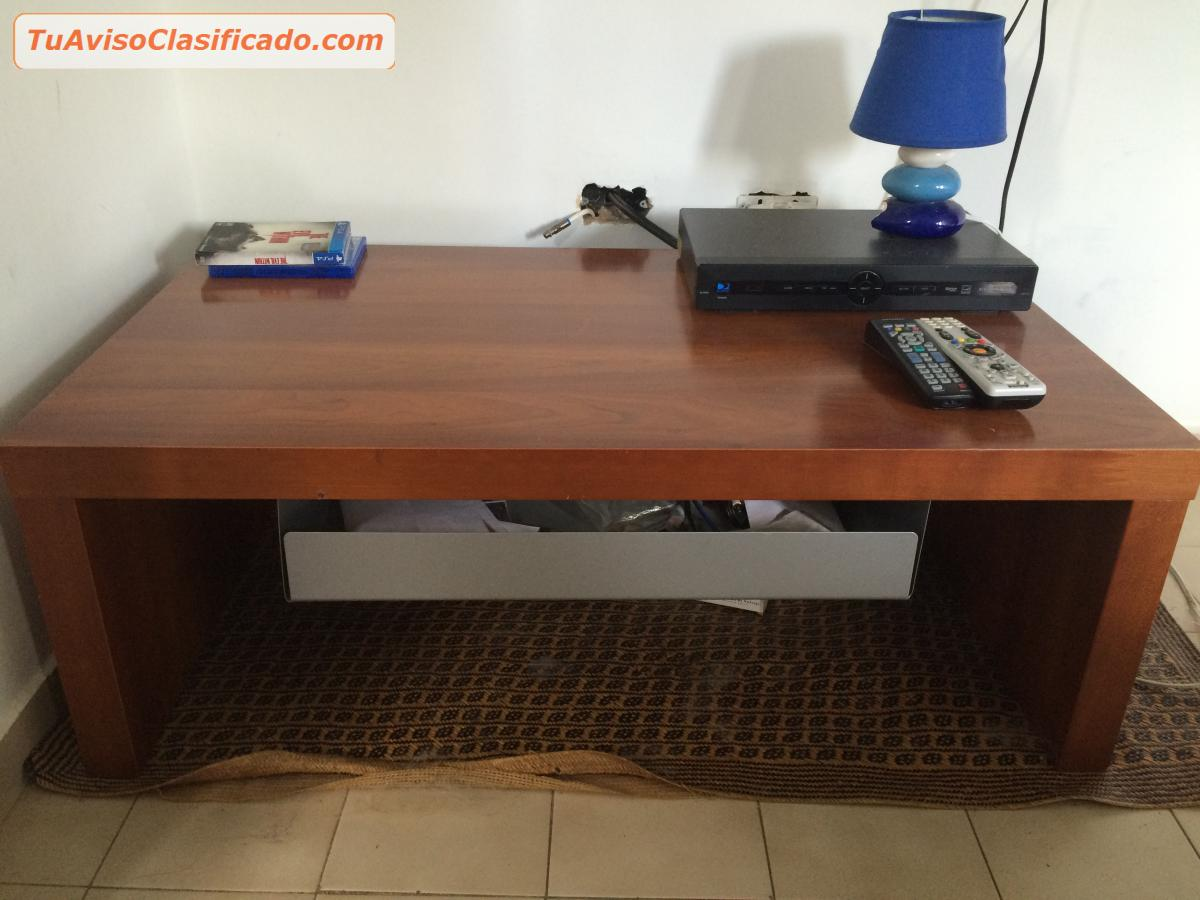 Mesa para sala de madera hogar y muebles mesas y - Mesas de habitacion ...
