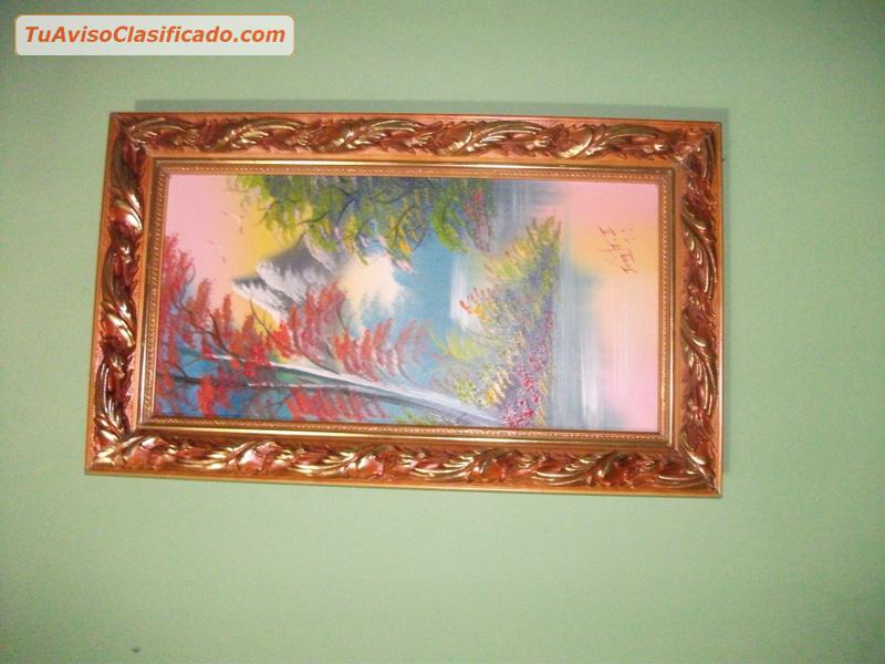 3 cuadros grandes y 4 peque os bonitos baratos arte y - Marcos cuadros baratos ...